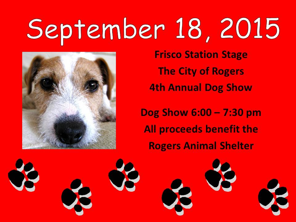 4th Save the Date Dog Show Flyer