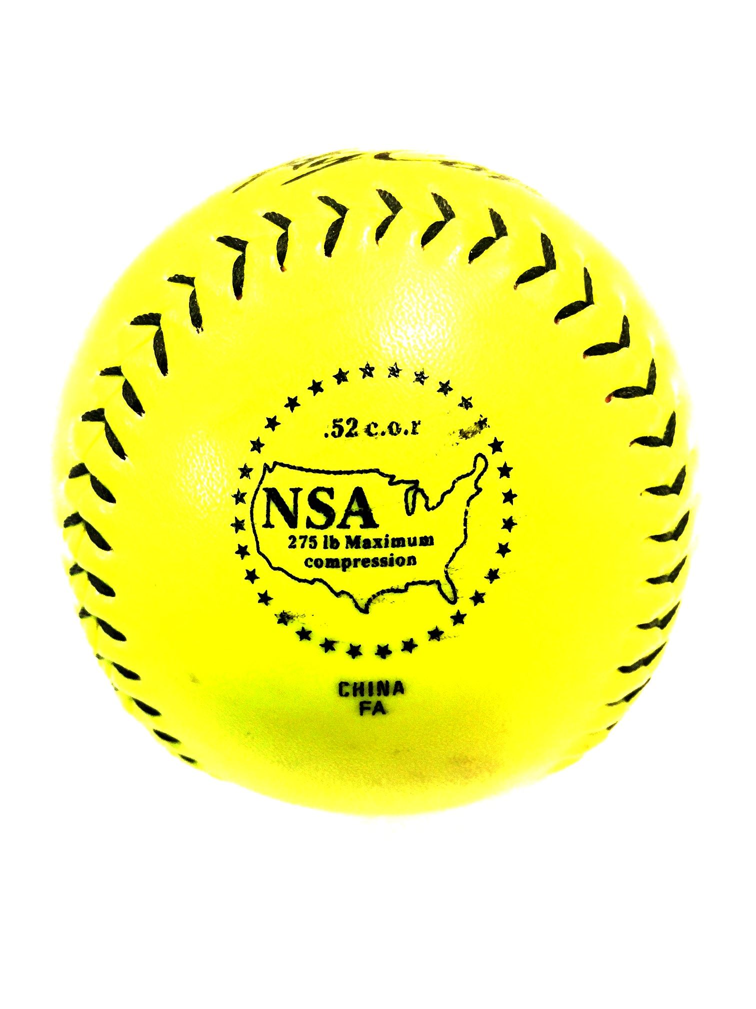 NSA Approved Softball (2017 Stamp)