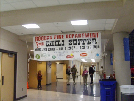 Rogers Fire Department Chili Supper