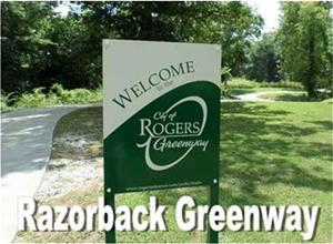 Razorback Greenway Video