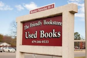 The Friendly Bookstore Logo