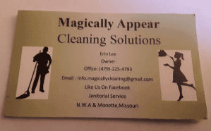 Magically Appear Cleaning Solutions LLC