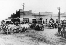 Rogers Wholesale Grocery in 1907