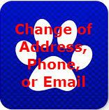 Change of Address Button