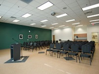 Adult Wellness Center Meeting Room - View From Front