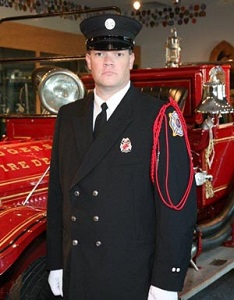 Fire Equipment Operator Shawn Rogers